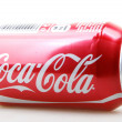 ������, ������: AYTOS BULGARIA JANUARY 25 2014: Coca Cola bottle can isolate