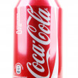 AYTOS, BULGARI- JANUARY 25, 2014: Coca-Colbottle cisolate — Stock Photo #39503955