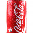 AYTOS, BULGARI- JANUARY 25, 2014: Coca-Colbottle cisolate — Stock Photo #39504097
