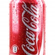 AYTOS, BULGARI- JANUARY 25, 2014: Coca-Colbottle cisolate — Stock Photo #39504109