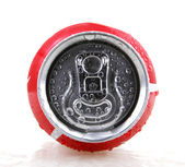 AYTOS, BULGARIA - JANUARY 25, 2014: Coca-Cola bottle can isolate — Stock Photo