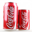 Stock Photo: AYTOS, BULGARI- JANUARY 28, 2014: Coca-Colisolated on white