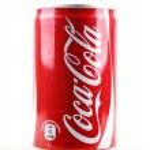 Постер, плакат: AYTOS BULGARIA JANUARY 28 2014: Coca Cola isolated on white
