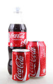 AYTOS, BULGARIA - JANUARY 28, 2014: Coca-Cola isolated on white — Stock Photo