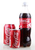 AYTOS, BULGARIA - JANUARY 28, 2014: Coca-Cola isolated on white — Stock Photo