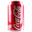 Stock Photo: AYTOS, BULGARI- FEBRUARI 01, 2014: Coca-Colisolated on white