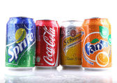 AYTOS, BULGARIA - FEBRUARI 01, 2014: Global brand of fruit-flavo — Stock Photo