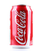AYTOS, BULGARIA - MARCH 14, 2014: Coca-Cola isolated on white ba — Stock Photo