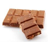 AYTOS, BULGARIA - MAY 05, 2014: Lindt Swiss milk chocolate with — Stock Photo