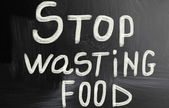 Stop wasting food — Stock Photo