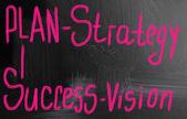 Plan - strategy — Stock Photo