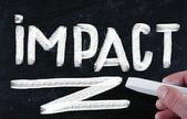 Conceito de impacto — Foto Stock