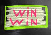 Win win concept — Stock Photo