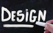 Conceito de design — Fotografia Stock