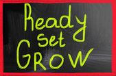 Ready set grow — Stock Photo