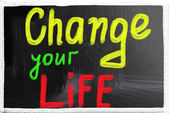 Change your life — Stock Photo