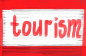 Tourism concept — Stock Photo