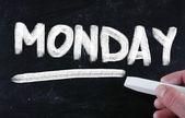 Segunda-feira — Fotografia Stock