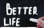 Better life concept — Stock Photo