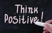 Think positive! — Stock Photo