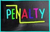 Penalty concept — Stock Photo
