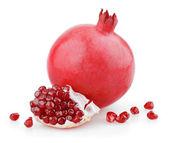 Sladký granátové jablko ovoce se semeny — Stock fotografie