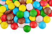 Сolorful candy on white — Stock Photo