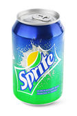 Aluminum can of Sprite — Stock Photo
