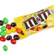 Stock Photo: Unwrapped M&M's chocolate candies