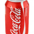 Stock Photo: Aluminum red can of Coca-Cola