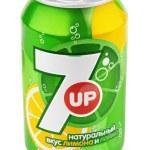 Постер, плакат: Aluminum can of 7up