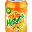 Aluminum can of Mirinda — Stock Photo