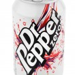 Aluminum silver cof Dr Pepper — Stock Photo #19554347