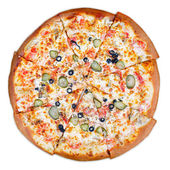 Deliciosa pizza italiana — Foto de Stock