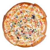 Délicieuse pizza italienne — Photo
