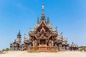 Sanctuaire de la vérité à pattaya, Thaïlande — Photo