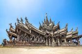 Sanctuary of Truth in Pattaya, Thailand — Stock Photo