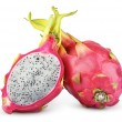 Dragon fruit or pitaya isolated on white — Stock Photo