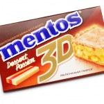 Постер, плакат: Chewing gum Mentos 3D