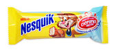 Nesquik Chocolate Candy Bar — Stock Photo