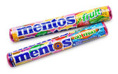 Mentos fruit chewy dragees — Stock Photo