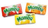 Colorful Mamba Fruit Chews — Stock Photo