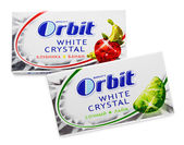 Chewing gums Orbit white crystal — Stock Photo