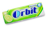 Chewing gum Orbit lime — Stock Photo