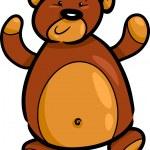 Cute teddy bear cartoon — Stock Vector #12247260