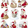 Royalty-Free Stock Vector Image: Cartoon Set of Christmas Themes