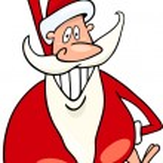 Santa claus christmas cartoon illustration — Stock Vector #14944239