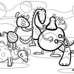 Cartoon fantasy group coloring book — Stock Vector #32971117