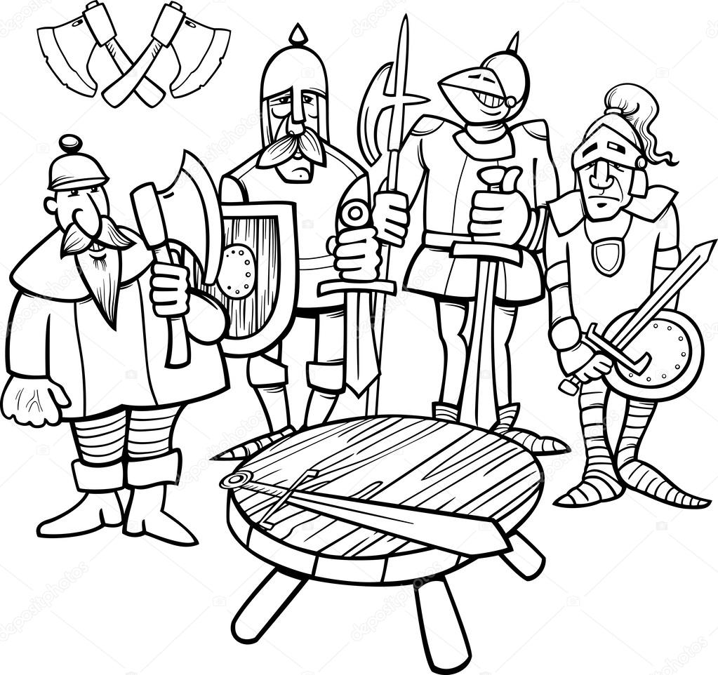 Stock Photo Business People Sitting In A likewise Content also Pizza Coloring Pages in addition Dining Room Cliparts as well 1 Point Perspective Drawing 286638958. on round table cartoon