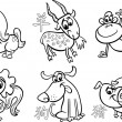 Chinese zodiac horoscope signs — Stockvector